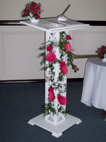 Guest Book Stand
